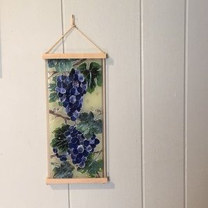 Boho Grapes Suncatcher